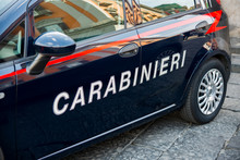 Vehicle Of The Italian Carabin...