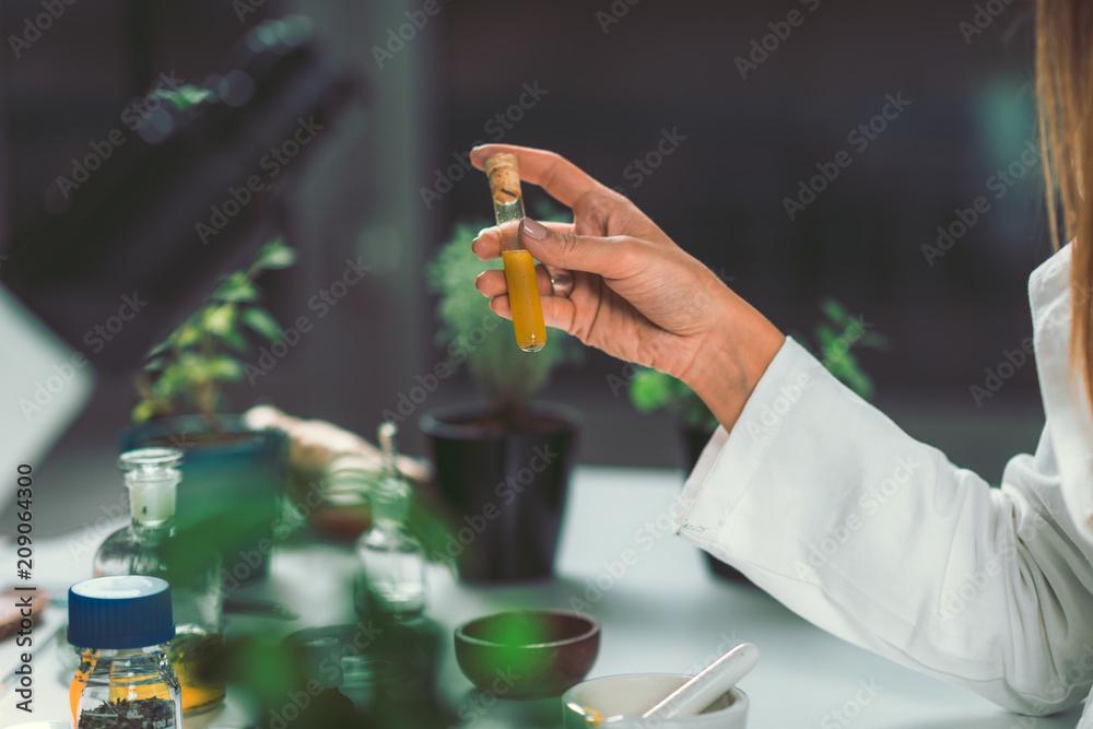 Fototapety, obrazy: Homeopathy lab.