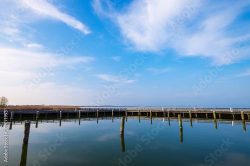 Foto op Plexiglas Poort Der Hafen von Dierhagen am Bodden