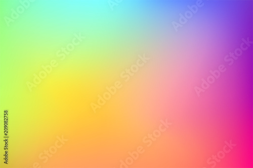 canvas print motiv - AnnaSven : Gradient colorful vector background