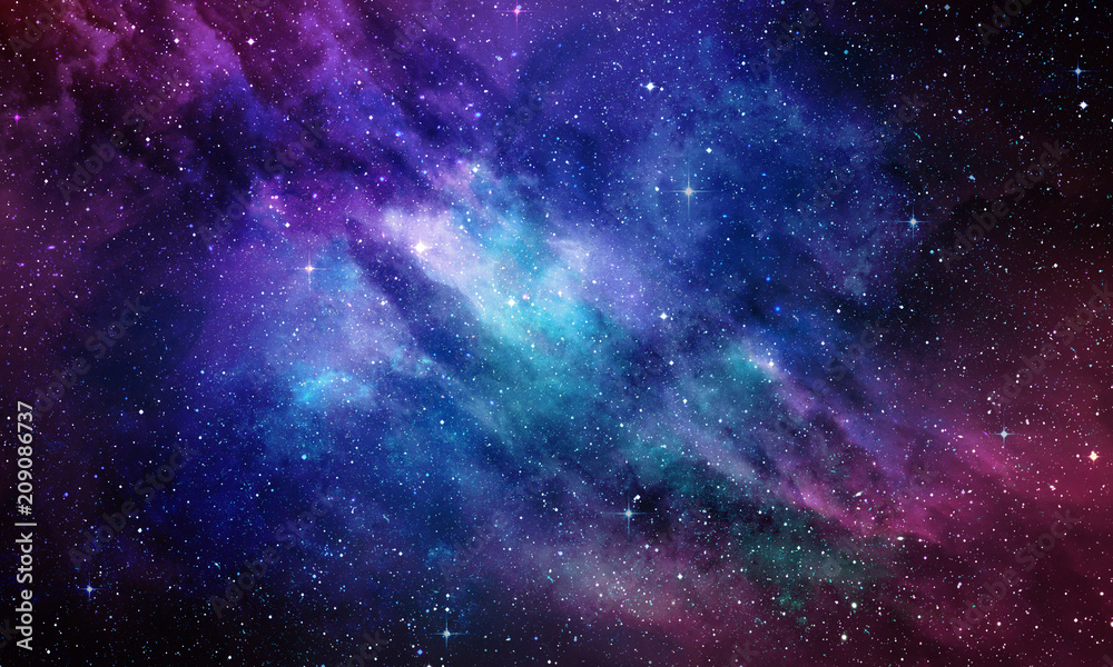 Fototapety, obrazy: Deep Space