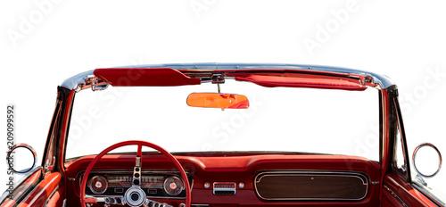 classic convertible interior