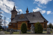 Wooden Church In Koscielisko N...