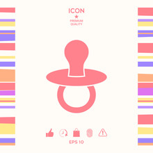 Baby Pacifier -  Icon