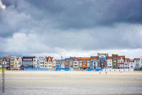 Canvas Print Dunkerque - Malo Les Bains, beach resort of Dunkirk
