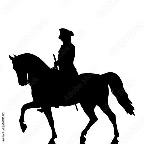 Fotografia militar a caballo