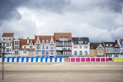 Dunkerque - Malo Les Bains, beach resort of Dunkirk Wallpaper Mural