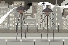Science Fiction Alien Giant Tripod