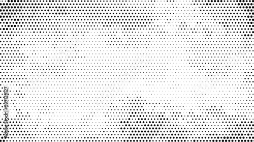 Photo  Halftone dotted background