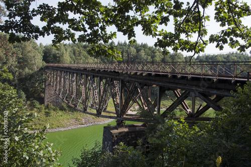 Fotografie, Obraz  Stary most kolejowy
