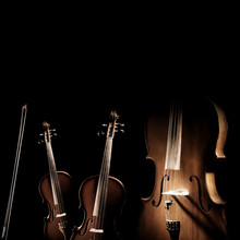 String Instruments Violin And ...