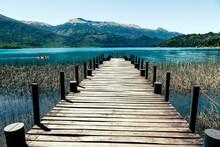 Lake Pier In Tronador Area Pat...