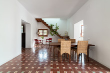 Modern Dining Room With Typica...