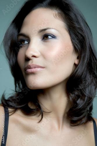 Model Beauty Stylish Makeup Portrait