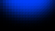 Blue Black Low Poly Vector Background