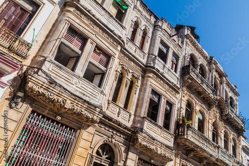 Fotobehang Havana Old houses in Havana, Cuba.