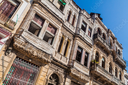 Foto op Canvas Havana Old houses in Havana, Cuba.
