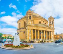 Rotunda In Mosta, Malta