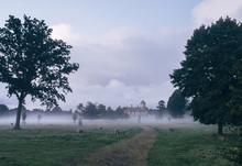 Narford Hall And Rising Fog At...