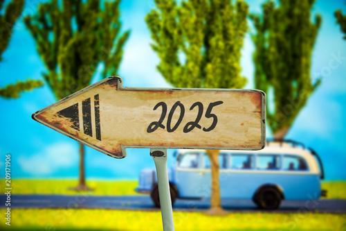 Poster  Schild 321 - 2025