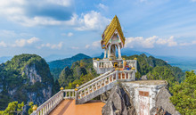 The Top Of  Tiger Cave Temple,...