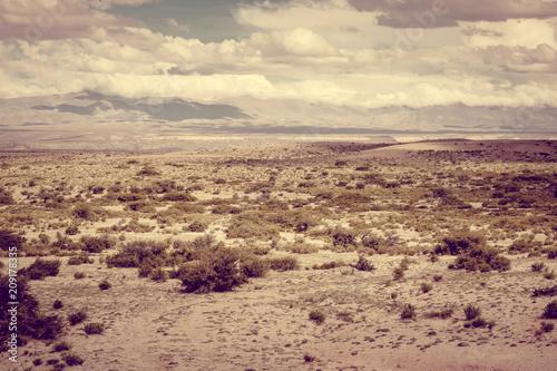 In de dag Centraal-Amerika Landen Desert landscape in Bolivia