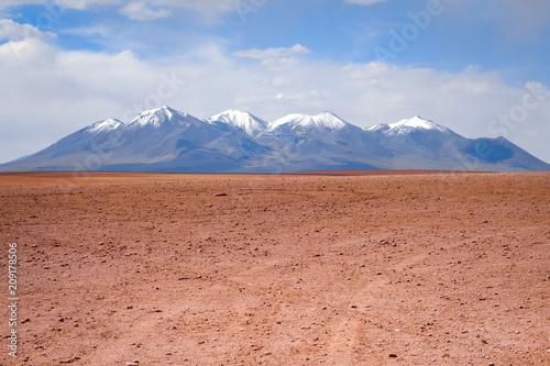In de dag Centraal-Amerika Landen Siloli desert in sud Lipez reserva, Bolivia