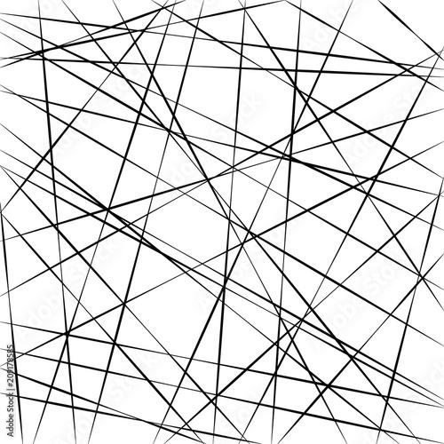 Obraz Abstract geometric pattern, random random stripe lines, vector background intersecting diagonal stripe lines different angle - fototapety do salonu