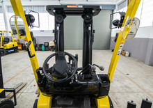 Steering Wheel Control And Cabin Forklift