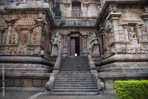 Dvarpalas or guardians at the entrance of the main sanctum, Gangaikonda Cholapur Poster