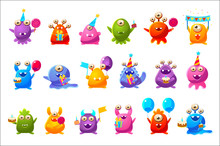Fantastic Monsters With Birthd...