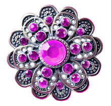 Brooch - Richly Decorated, Pur...