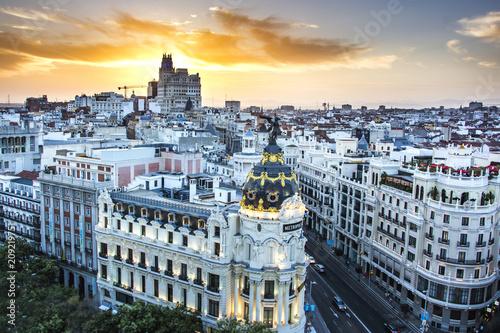 Foto  Madrid Sunset