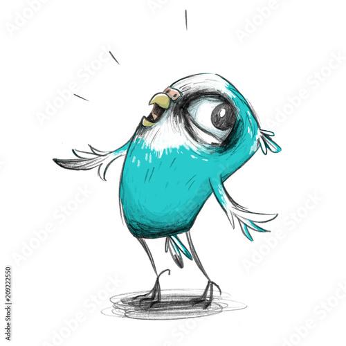 sliczna-papuzka-falista-swobodnie-cwiczy