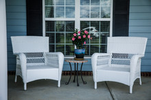 Front Porch Relaxation Wicker ...