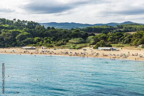 Castell Beach Costa Brava Girona Catalonia Spain
