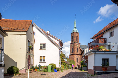 Foto op Canvas Europa Dilsberg, Kirche