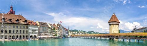 Foto op Canvas Europa Luzern, Kapellbrücke