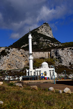 The Mosque At Europa Point On The Rock Of Gibraltar Is The First Or The Last Mosque In Europe
