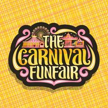 Vector Logo For Carnival Funfa...
