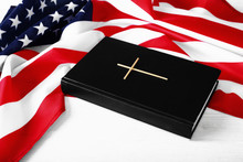 The Holy Bible And The American Flag