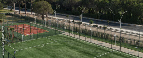 Obraz Soccer Field - fototapety do salonu