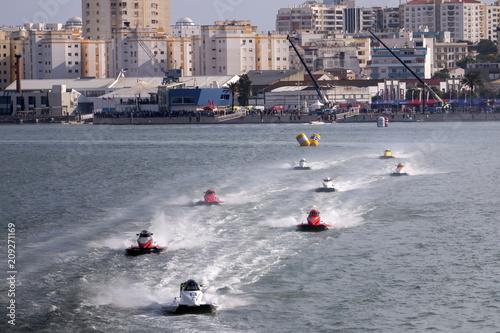 Keuken foto achterwand F1 fast powerboat racing