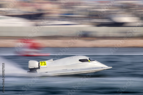 Recess Fitting F1 fast powerboat racing