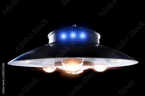 Foto op Canvas UFO Classic ufo saucer
