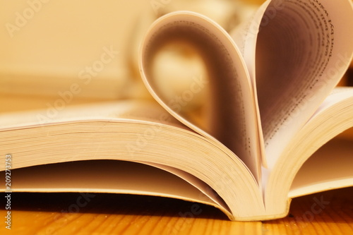 Obraz kocham czytać książki  - fototapety do salonu