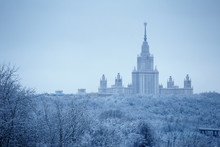 After Heavy Snowfall In Moscow...