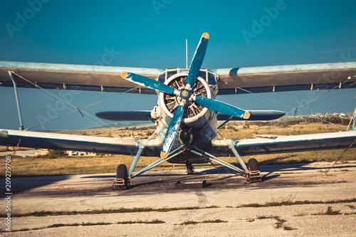 Obraz Stary samolot - fototapety do salonu