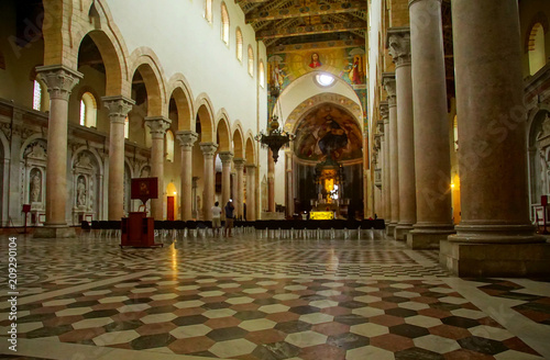 Vászonkép  Inlaid tile floors of the Cathedral