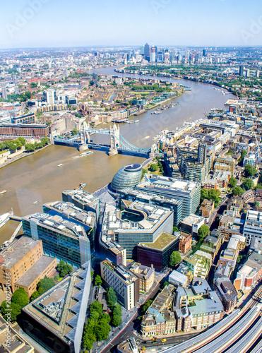 Fotografie, Obraz  River Thames View